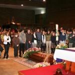 Los Juniors ante el feretro 04/03/2009